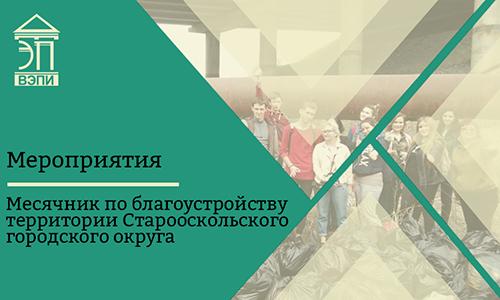 Месячник по благоустройству территории Старооскольского городского округа